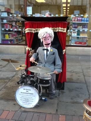 Simpl Website Builder - The Drumming Puppet